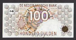 NETHERLANDS 100 Gulden 1992 UNC P101 HIGH GRADE and RARE BANKNOTE