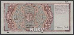 Pays-bas 25 Gulden 1941, Mees, Unc, Pick 50