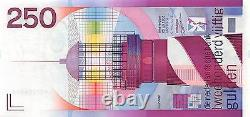 Pays-bas 250 Gulden 1985 Lighthouse Unc Rare Note